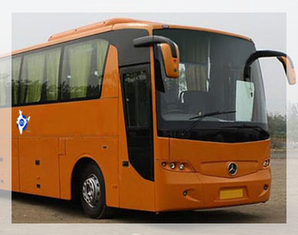 mercedes benz rental in new delhi, 38 seater mercedes van rental in west delhi, luxury bus on rent in delhi ncr