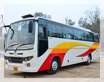 Bus rental in Delhi, Hire a bus in Delhi NCR, Luxury bus in New Delhi