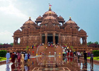 delhi historical places, akshardham temple in delhi, delhi sightseeing tour